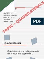 Shashwat Maths Ppt Quadrilaterals