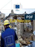 Civil ProtectionTraining Brochure