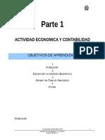 Actividad Economica Contabilidad I