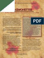 New World Bestiary - Daemonettes