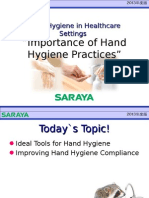 Saraya Hand Hygiene and Tb Patient Safety Mar 6 2014