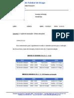 1.ª Ação de Avaliação - Futsal - Época 2015-2016
