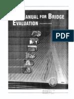 Manual for Bridge Evaluation1