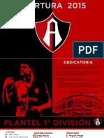 ATLAS FC - Apertura 2015