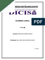 Tarea 6 Algebra Lineal bases