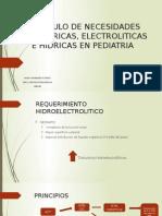 Calculo de Necesidades Caloricas, Electroliticas e Hidricas