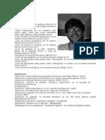 Eduardo Sánchez Curriculum