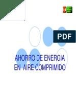 Ahorro de Energia en Aire Comprimido