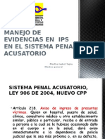 Presentacion Cadena de Custodia
