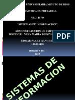 Sistemas de Informacion Empresarial