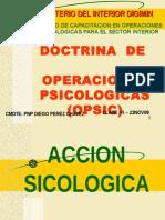 Doctrina Opsic Clase Vi 23nov09