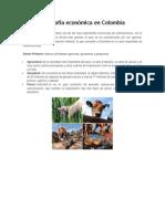 Geografía Económica en Colombia