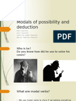 Modals of Possibility and Deduction Interm 3