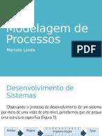 Modelagem de Processos Aula Revisão