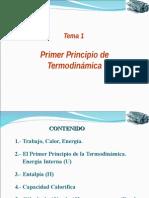 1a Ley de Termodinámica