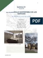 El Desarrollo Sustentable de Los Edificios