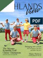 Highlands View Magazine Vol.20 No.1-2015