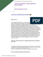 FPGA Interview Questions , FPGA Interview Questions & Answers ,FPGA