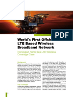 Huawei ELTE Solution Case Study(Detail)-World's First Offshore LTE Network