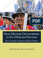 FROM MILITARY DICTATORSHIP TO EVO MORALES POPULISM