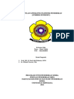 Kumpulan Literatur Statistik Pendidikan ( Hesty Yulisty 06121010031)