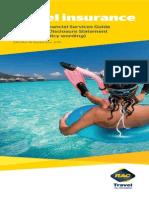 Pds Final - Rac Aaa Travel Insurance