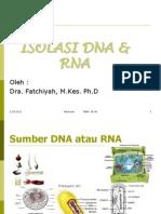 Isolasi DNA RNA Elktroforesi1