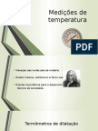 Medição de Temperatura
