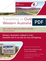 Travelling in Outback Western Australia