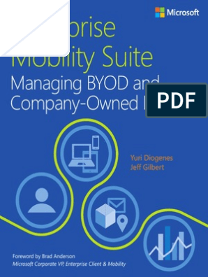 Enterprise Mobility Suite Managing BYOD and Company-owned