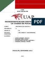 MICROZONIFICACION DE LA CIUDAD DE PUCALLPA