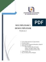 2015 3-IB3B Práctica 06 Mux Demux