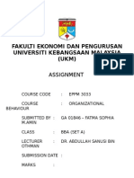 Assignment OB