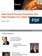How Good Privacy Practices can help prepare for a Data Breach from TRUSTe
