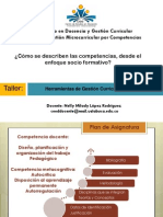 Taller Describir Competencias