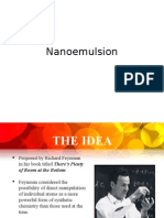 Nanoemulsion