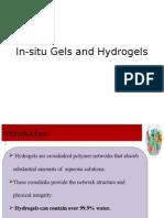 Insitu Gel Hydrogel