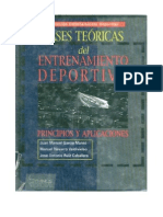 Bases Teoricas Del Entrenamiento Deportivo Principios y Aplicaciones