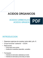 Acidos orgánicos