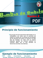 Bombas de Embolo (Hidromecanicos a)