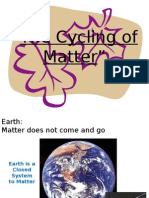 CHAPTER 2 Cycle of Matter