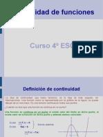 Continuidad (4º ESO)
