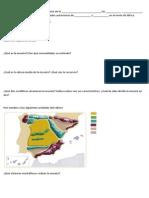 Relieve España 6º Primaria