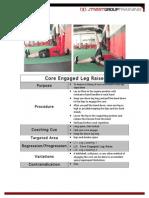 Core Engaged Leg Raise