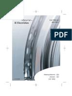 Electrolux EWF8555 User Manual
