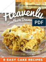Heavenly Southern Desserts 9 Easy Cake Recipes