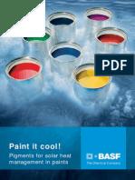 Paint It Cool! Pigments for Solar Heat Management in Paints