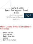 Bond Pricing and Bond Yield New