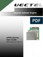 Quectel GPRS Startup User Guide V1.1