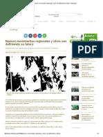 Nuevos Movimientos Regionales y Otros Van Definiendo Su Futuro _ Inforegion